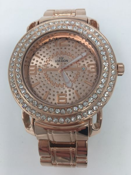 GENTS ROSE BLING WATCH